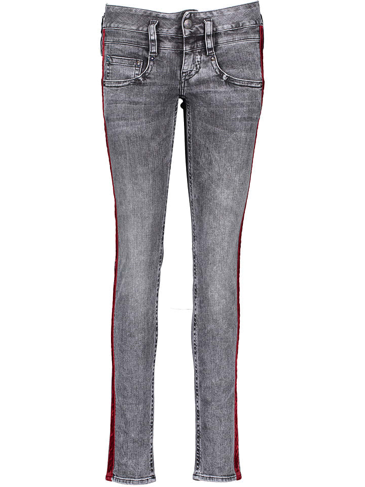"Herrlicher Jeans ""Pitch"" - Slim fit - in Grau"