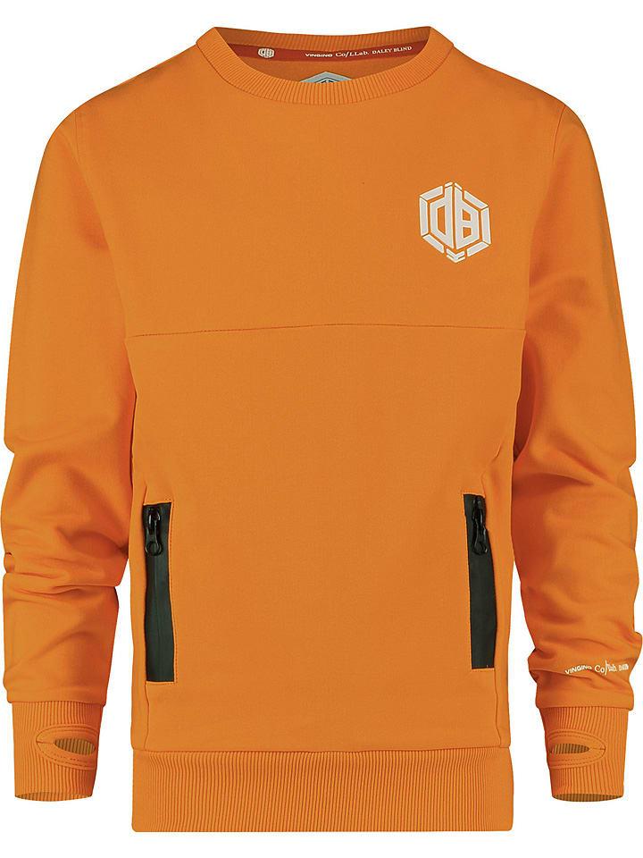 "Sweatshirt ""Niles"" oranje"