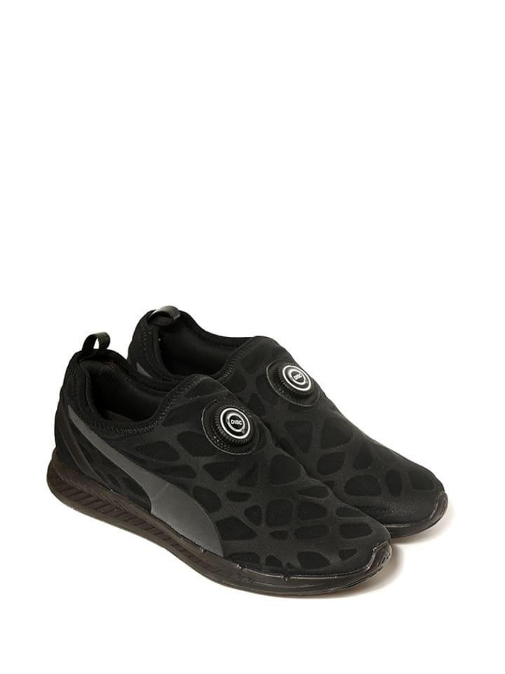 """Puma Sneakersy """"Disc Sleeve Ignite Foam"""" w kolorze czarnym"""