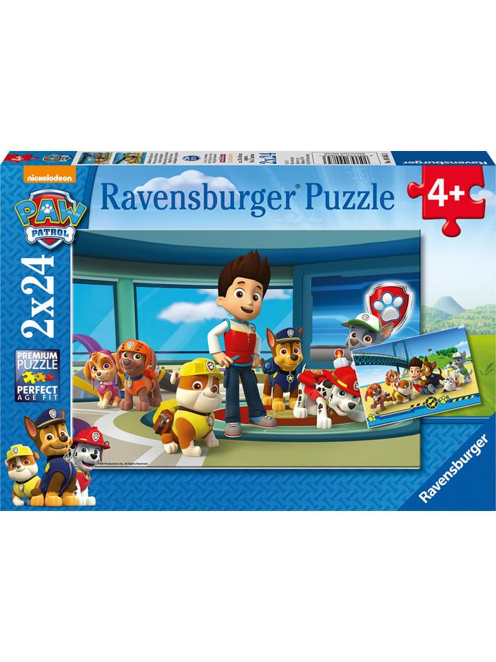 Paw Patrol 24-częściowe Puzzle (2 szt.) - 4+