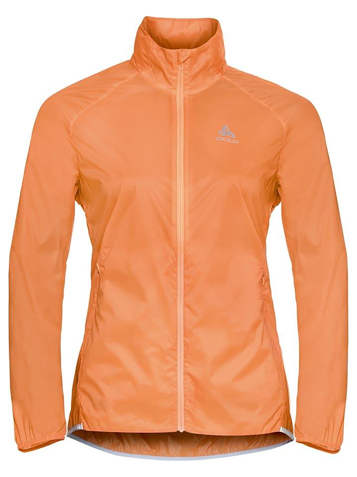 """Odlo Kurtka """"Zeroweight"""" w kolorze pomarańczowym do biegania"""