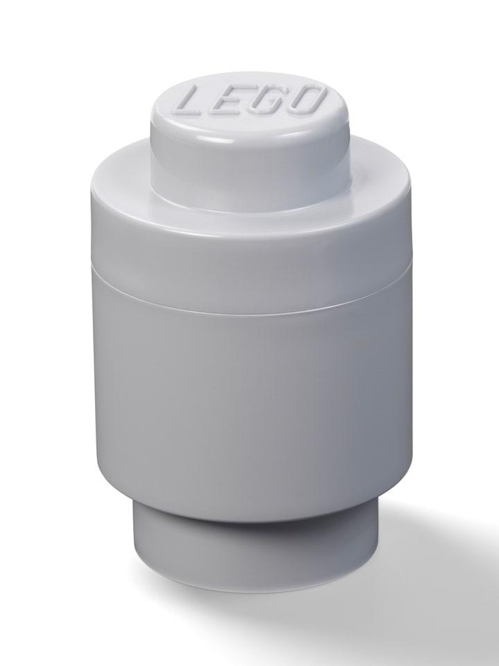 """LEGO Pojemnik """"Brick 1"""" w kolorze szarym - wys. 18,3 x Ø 12,3 cm"""