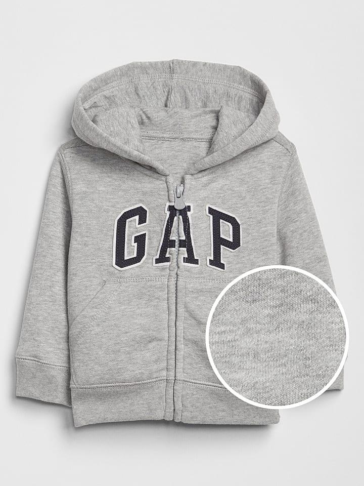 GAP Sweatjacke in Grau