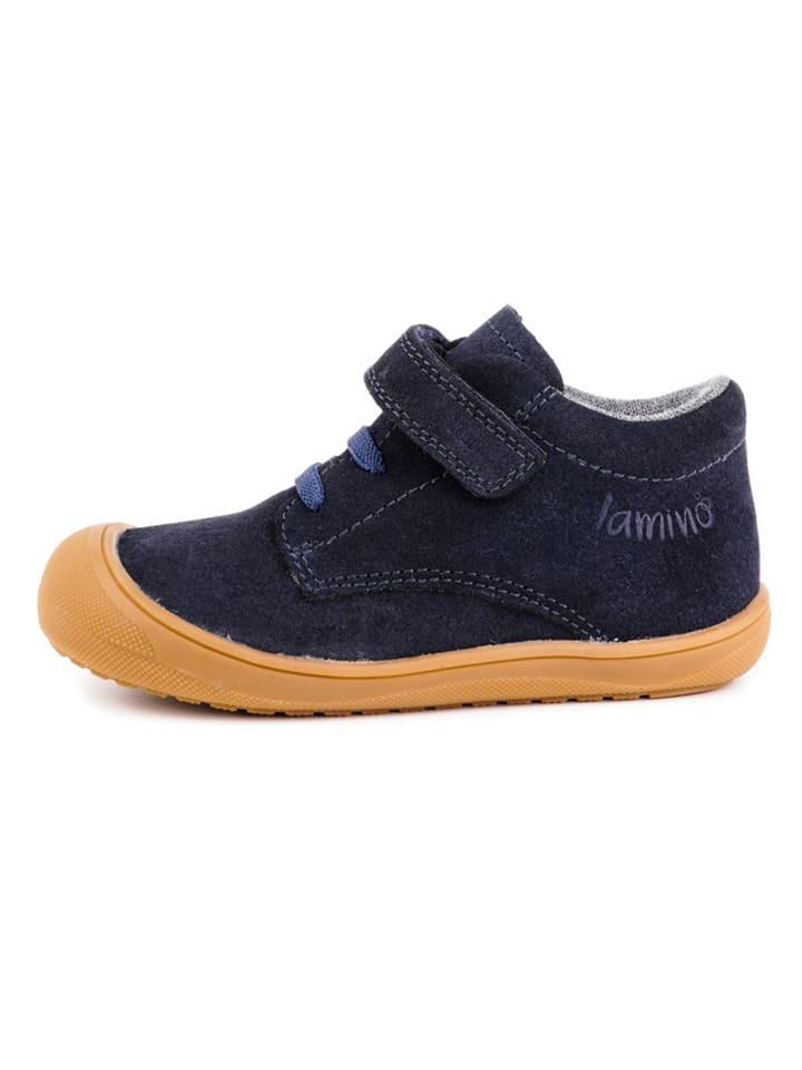 Lamino Leder-Sneakers in Dunkelblau