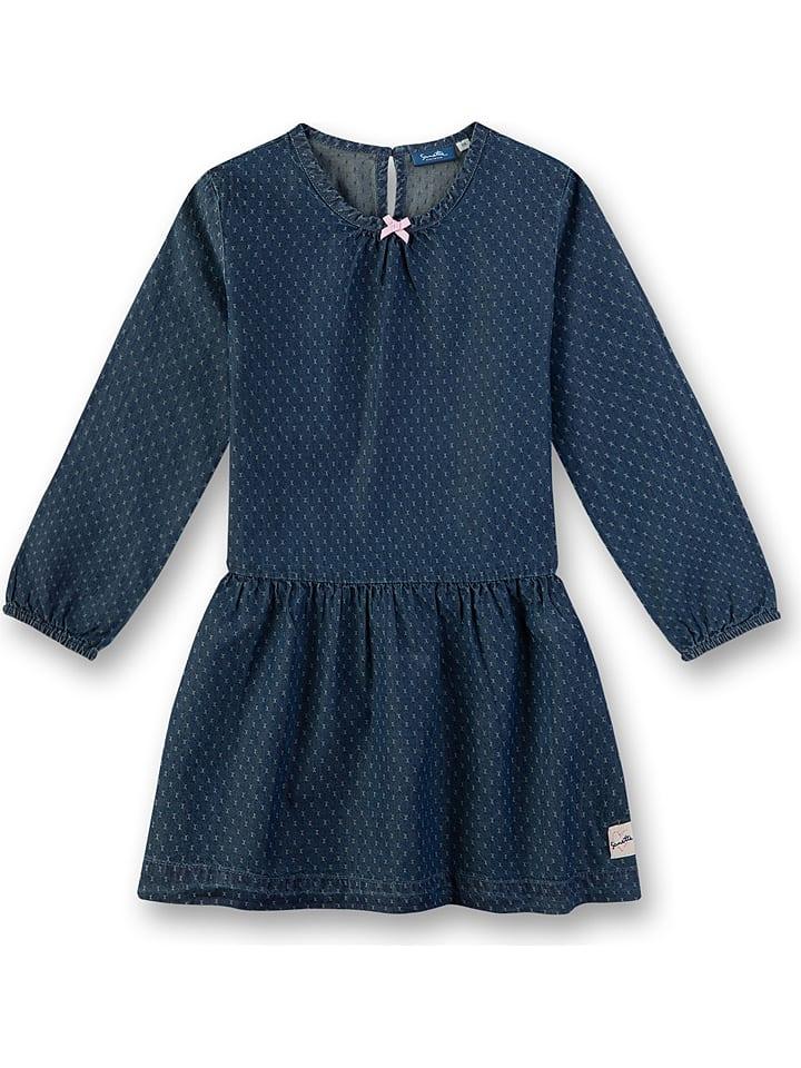 Sanetta Kidswear Sukienka w kolorze granatowym