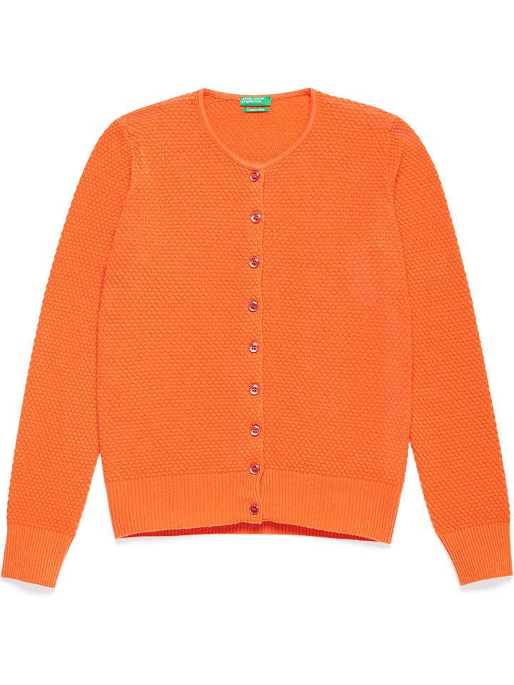 Benetton Vest oranje
