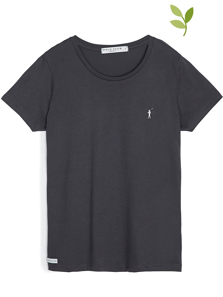 Polo Club Shirt in Anthrazit