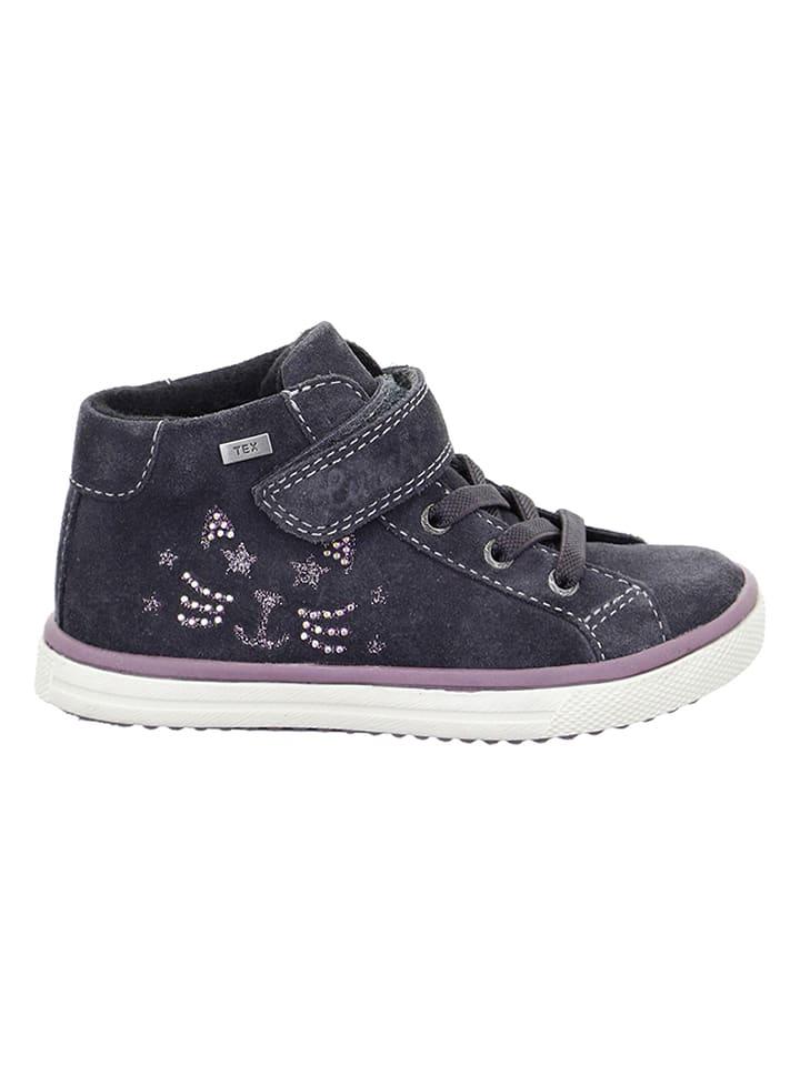 "Lurchi Leder-Sneakers ""Sienna-Tex"" in Anthrazit"