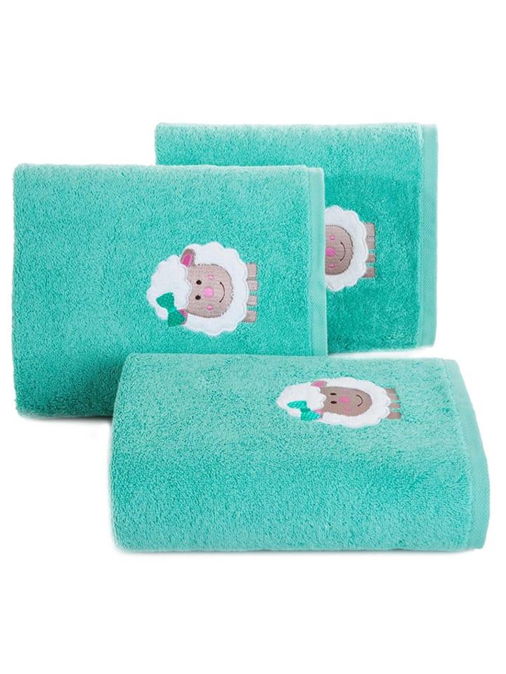 """Ręcznik """"Baby31"""" w kolorze turkusowym"""