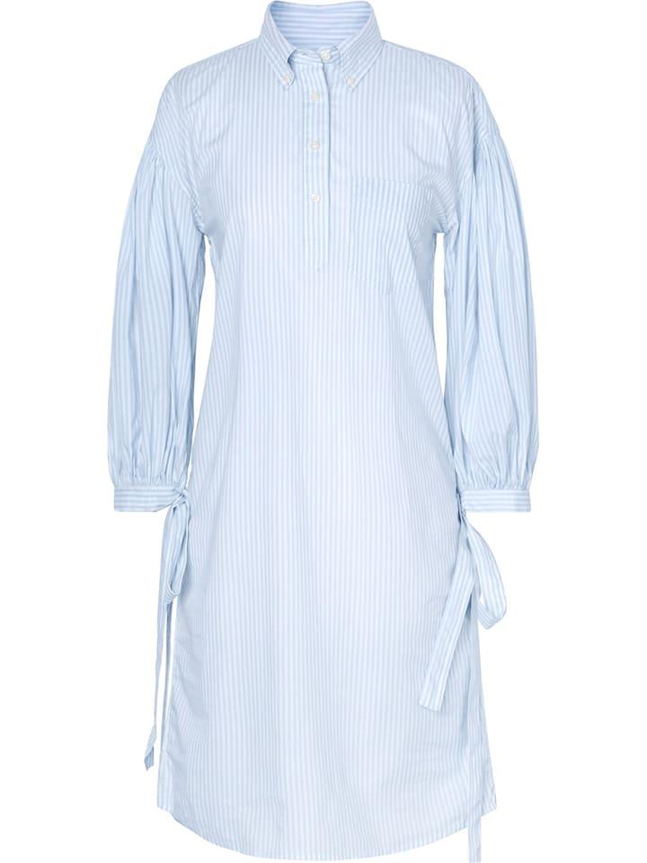 Gant Kleid in Hellblau/ Weiß günstig kaufen | limango