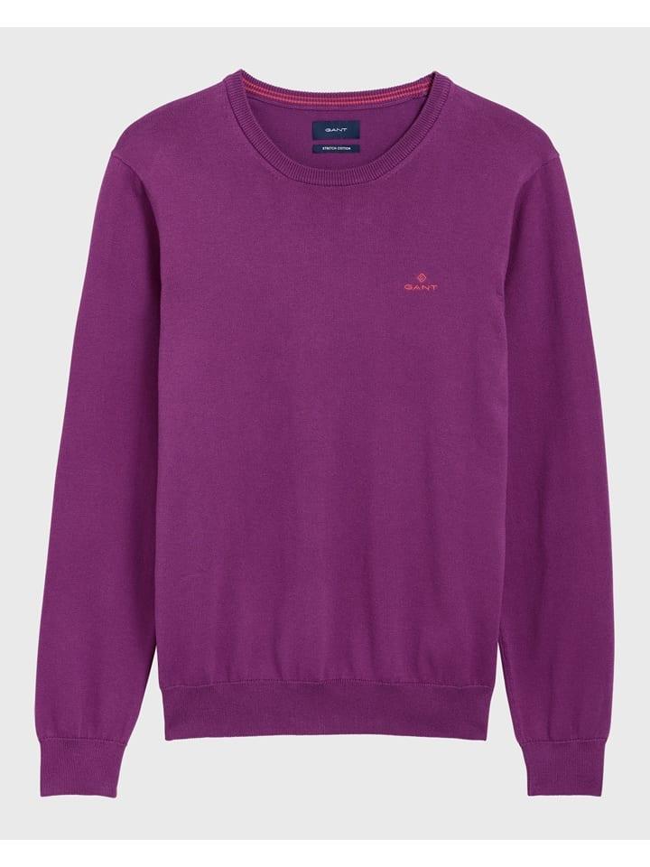 Gant Sweter w kolorze fioletowym