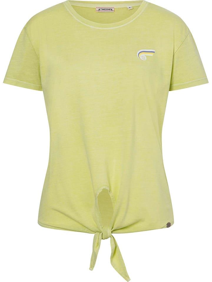 Timezone Koszulka w kolorze żółtym