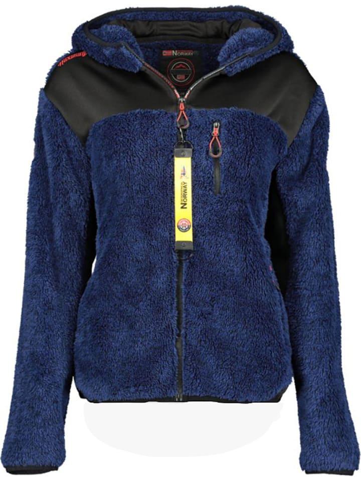 "Geographical Norway Fleece vest ""Telodia"" donkerblauw"