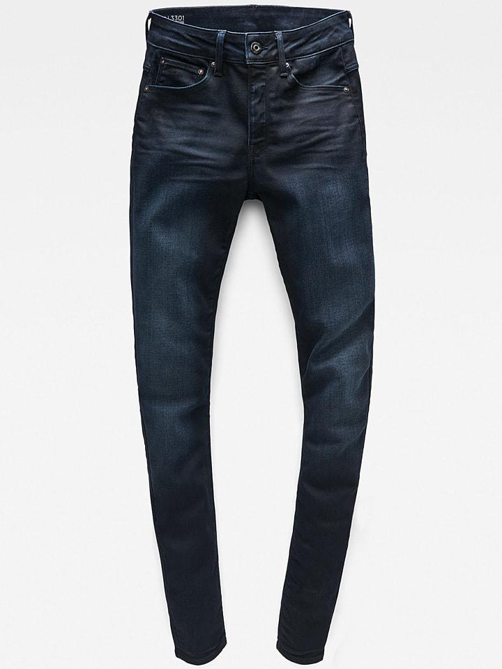 "Jeans ""3301"" - Skinny fit - in Dunkelblau"