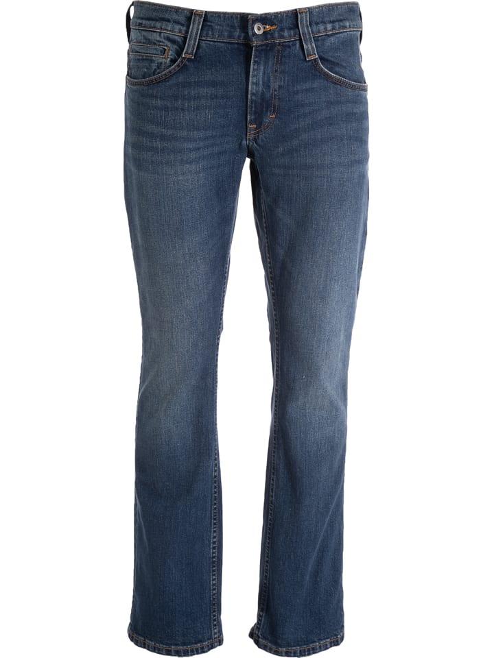 """Mustang Spijkerbroek """"Oregon"""" - comfort fit - donkerblauw"""