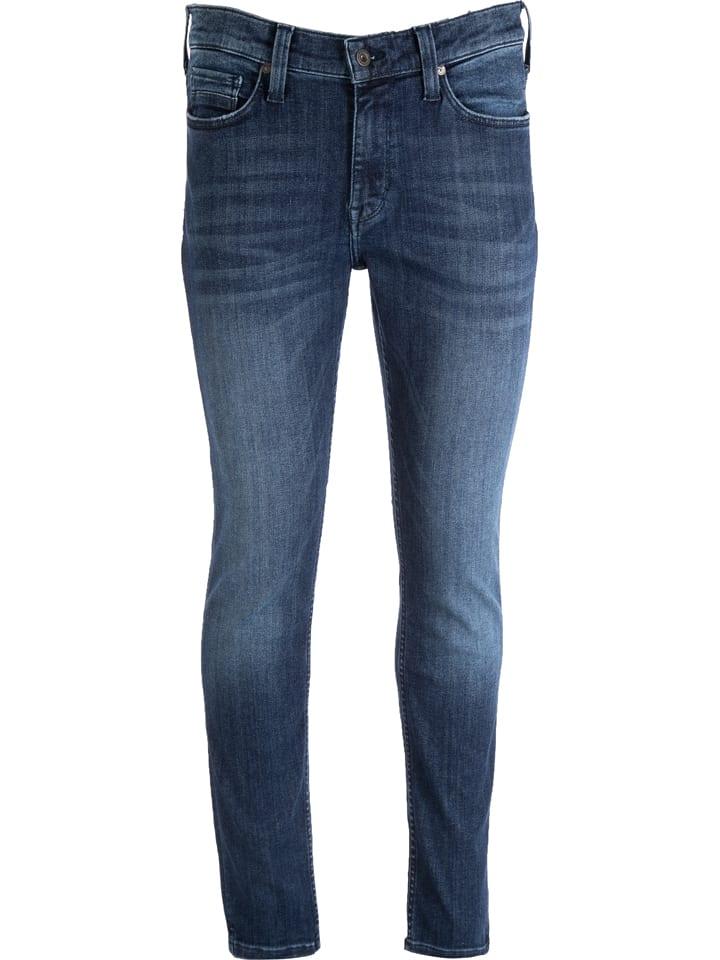 "Mustang Spijkerbroek ""Vegas"" - skinny fit - donkerblauw"