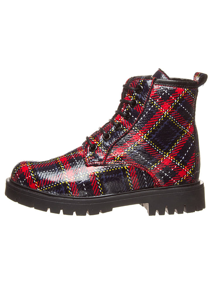 Kmins Boots in Rot