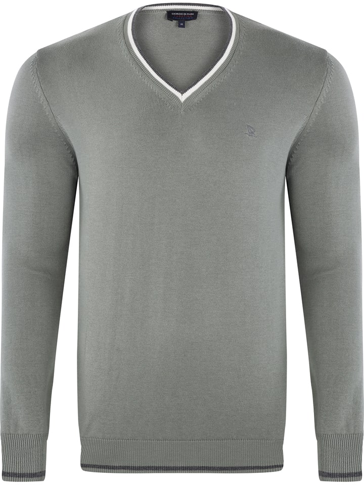 GIORGIO DI MARE Sweter w kolorze szarym