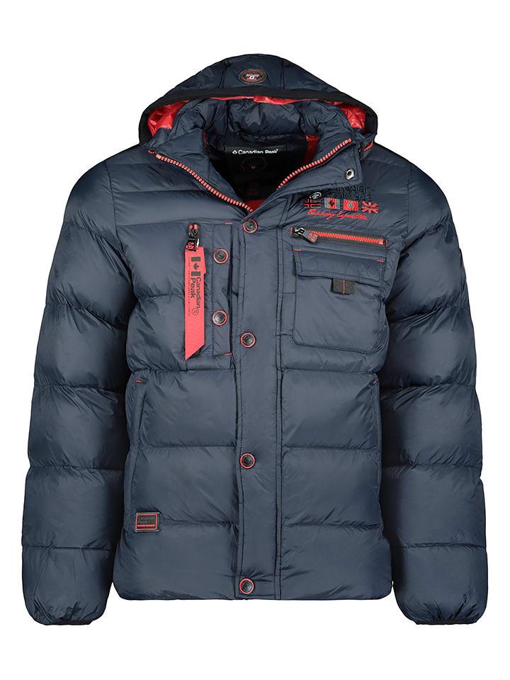"Canadian Peak Winterjas ""Counteak"" donkerblauw"