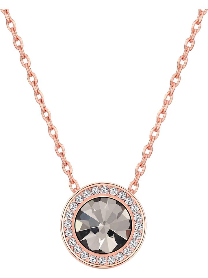 Park Avenue Rosévergulde ketting met Swarovski-kristallen - (L)42 cm