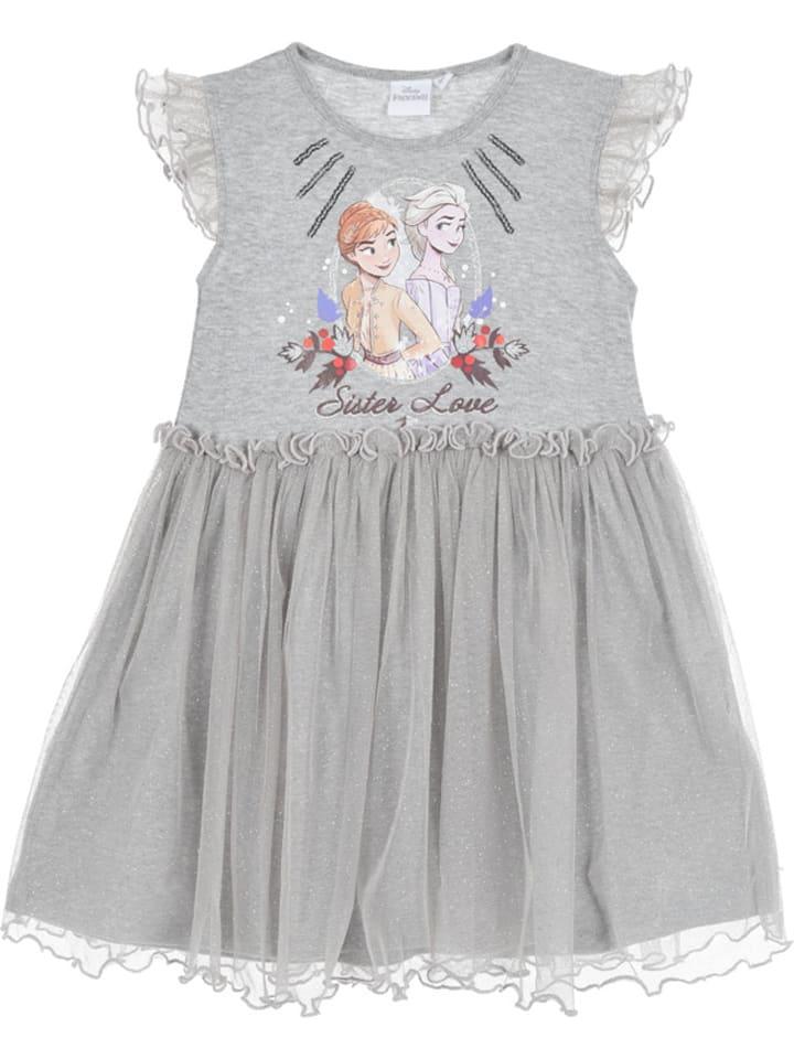 Disney Frozen Robe La Reine Des Neiges Gris Achetez A Bas Prix Limango