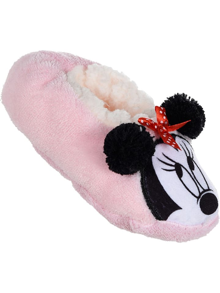 "Disney Minnie Mouse Pantoffels ""Minnie"" lichtroze"