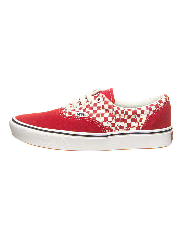"""Vans Leren sneakers """"Comfy Cush Era"""" rood/wit"""