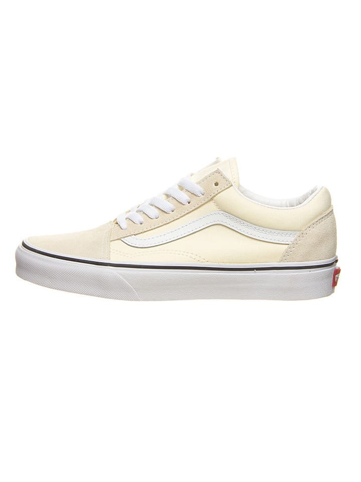 """Vans Leren sneakers """"Old Skool"""" beige"""