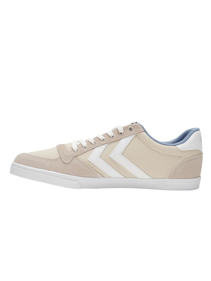 "Hummel Sneakers ""Slimmer Stadil Low"" in Beige"