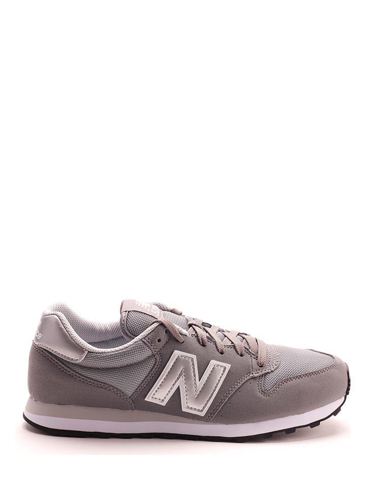 """New Balance Sneakers """"500"""" grijs"""