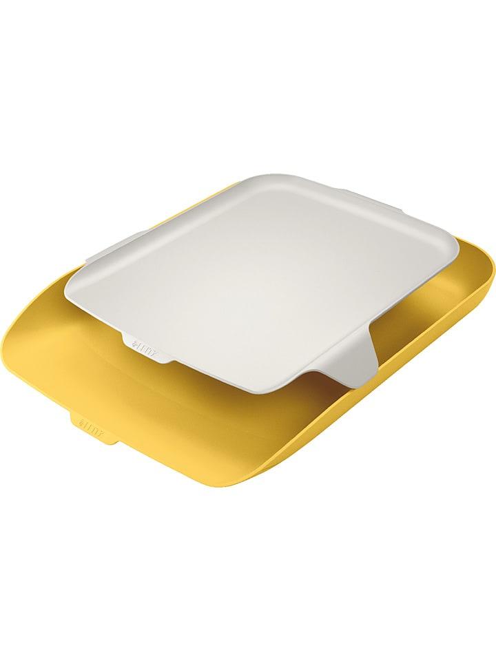 """Leitz Półka """"Cosy"""" w kolorze żółtym na dokumenty - A4"""