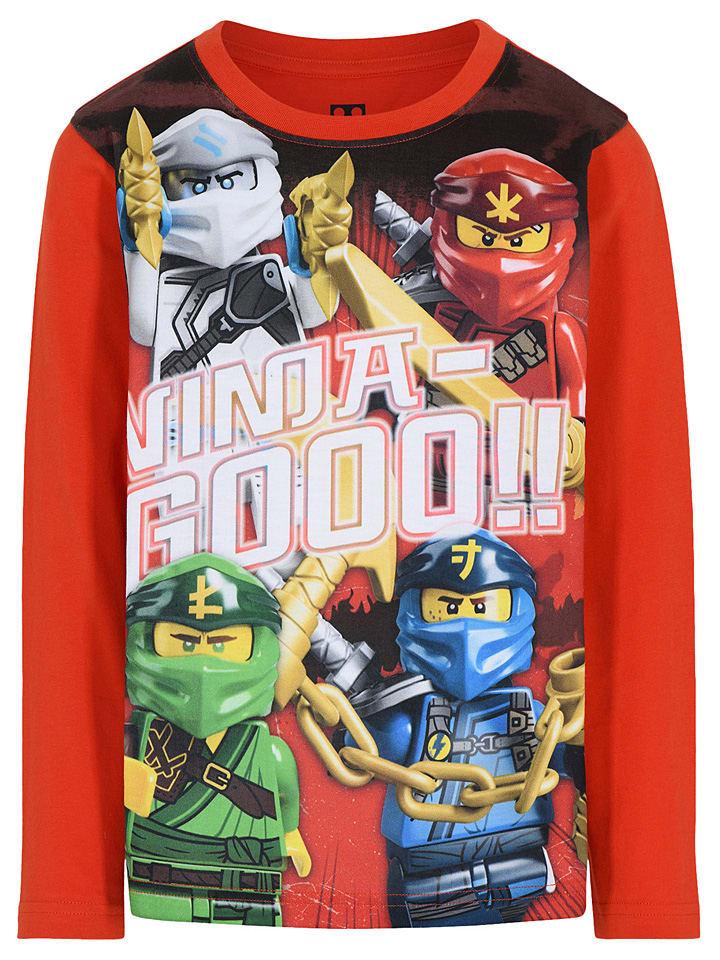 """Legowear Longsleeve """"M-22653"""" koraalrood"""