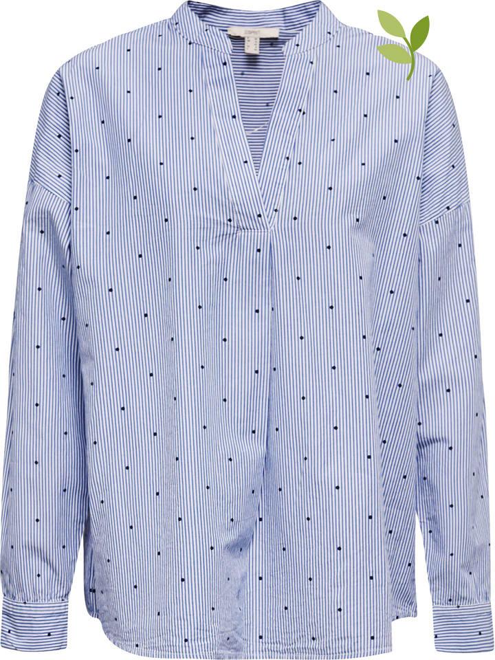 ESPRIT Bluzka w kolorze błękitnym