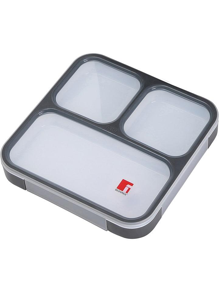 """Masterpro Lunchbox """"Traveller Club"""" zwart - 800 ml"""