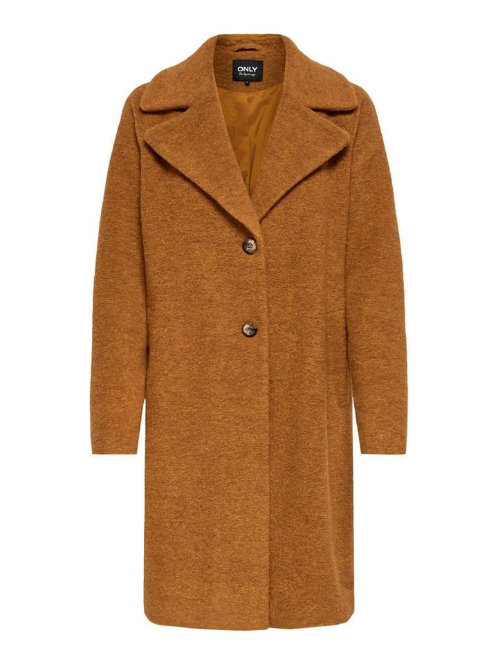 """ONLY Płaszcz przejściowy """"Vicki"""" w kolorze brązowym"""