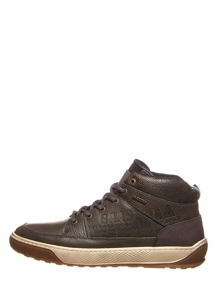 """GAASTRA Skórzane sneakersy """"Denzel"""" w kolorze brązowym"""