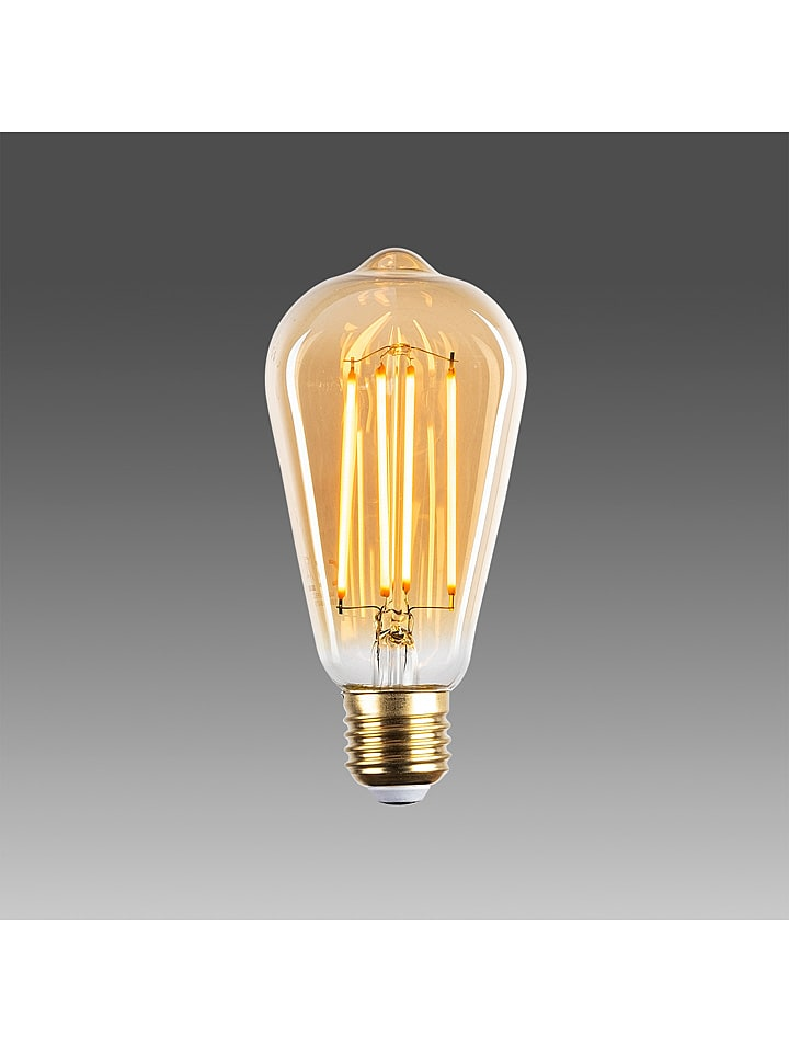 ABERTO DESIGN Żarówka LED E27 w kolorze ciepłej bieli - KEE A++ (A++ do E)