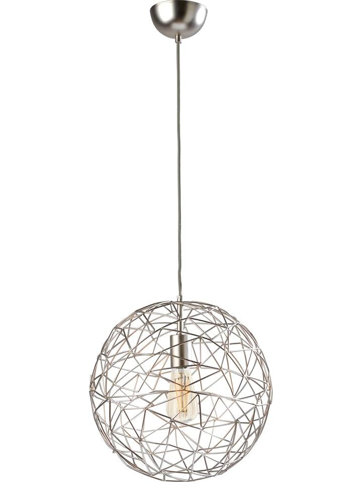 "Sompex Hanglamp ""Cage"" zilverkleurig - Ø 35 cm"