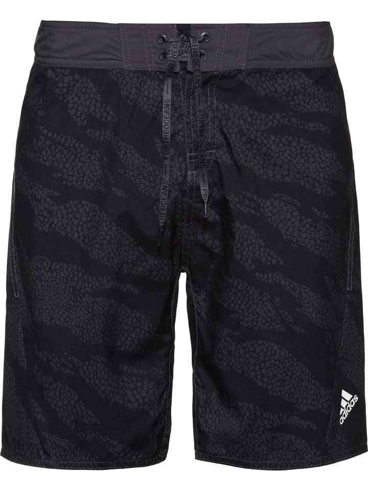 Adidas Badeshorts in Schwarz