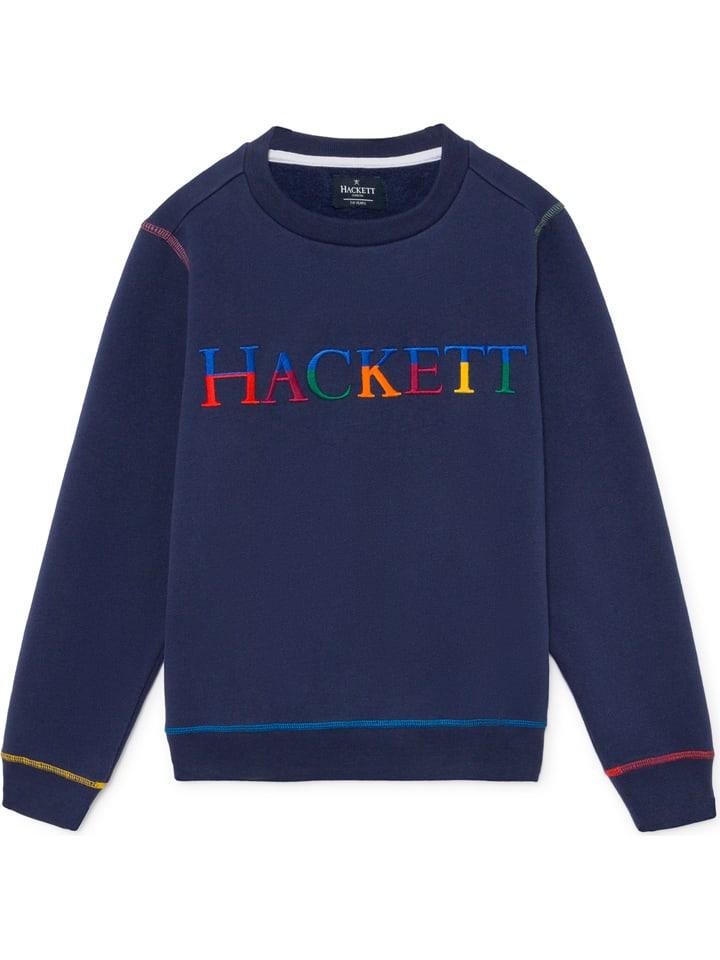 Hackett London Sweatshirt donkerblauw
