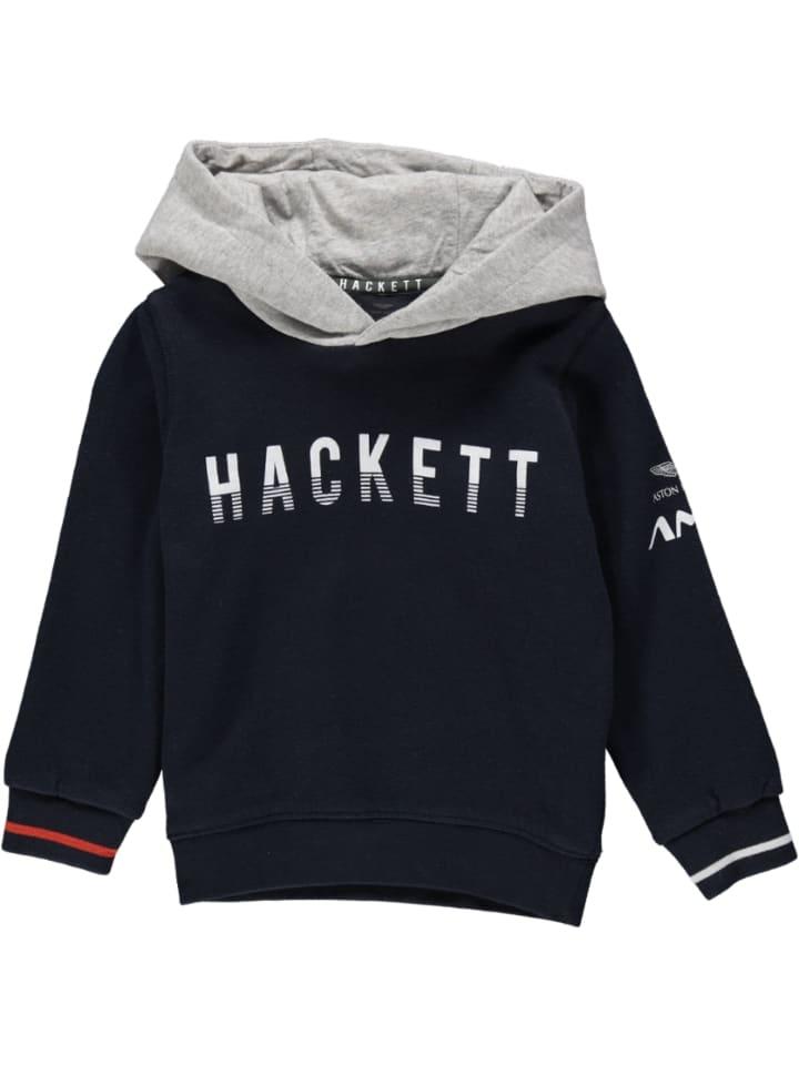 Hackett London Bluza w kolorze granatowym