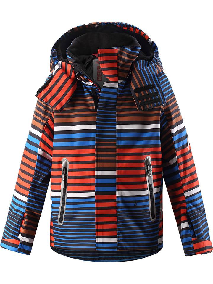 """Ski-/ Snowboardjacke """"Regor"""" in Rot/ Bunt"""