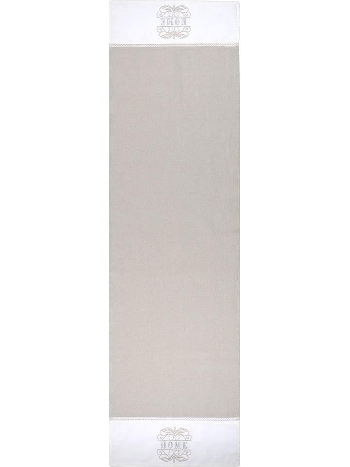 "STOF France Tafelloper ""Charline"" beige - (L)150 x (B)45 cm"
