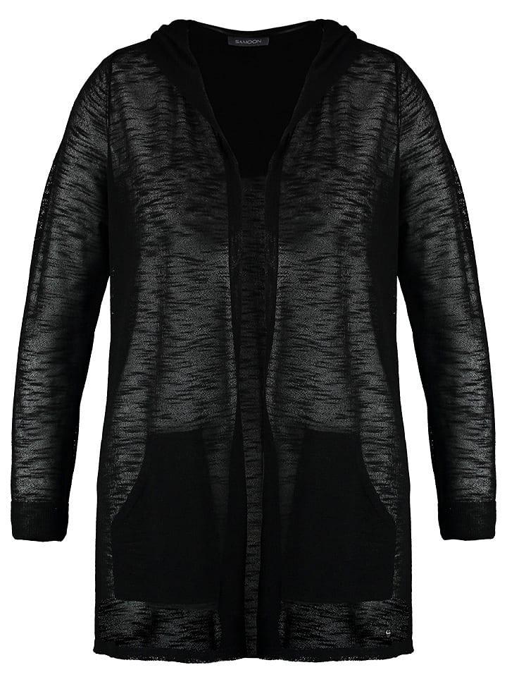 SAMOON Vest zwart