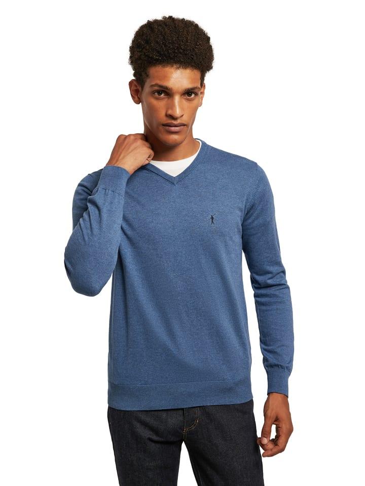 Polo Club Pullover in Blau