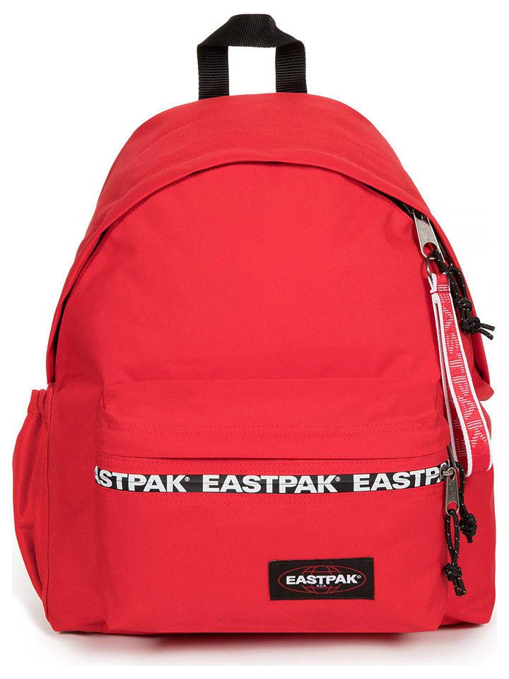 """Eastpak Rucksack """"Padded Zippl'r +"""" in Rot - (B)30 x (H)40 x (T)18 cm"""