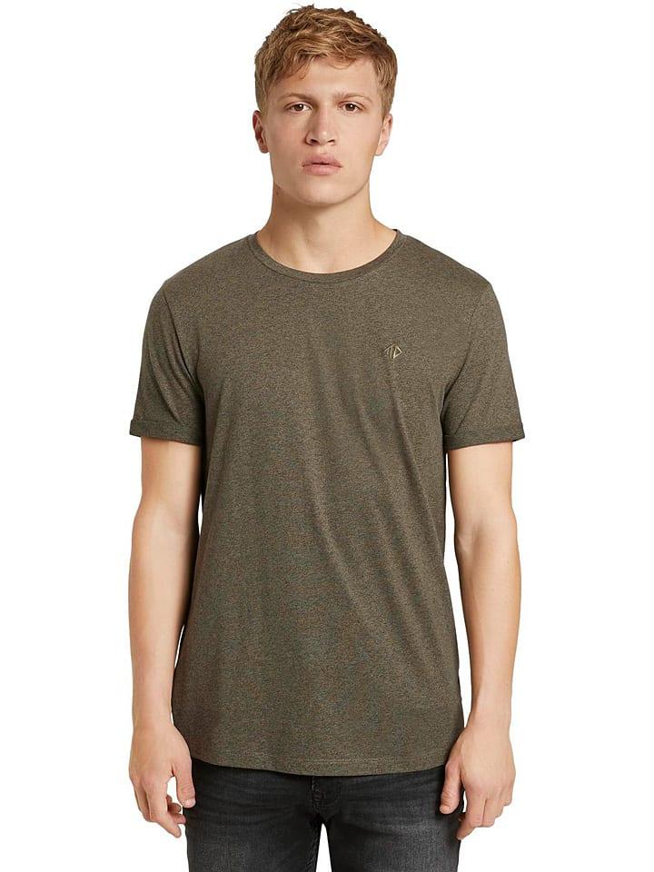 TOM TAILOR Denim Koszulka w kolorze oliwkowym