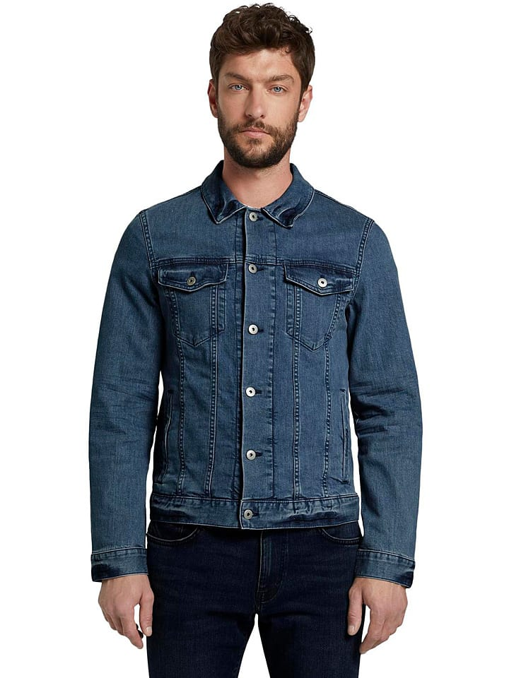 Tom Tailor Jeansjacke in Blau