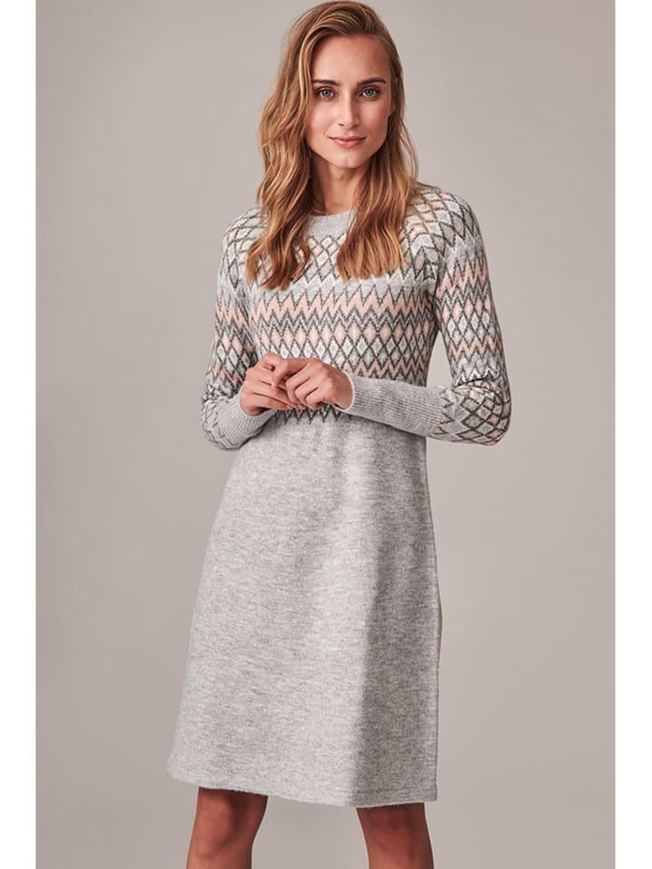 TATUUM Sukienka w kolorze szarym ze wzorem