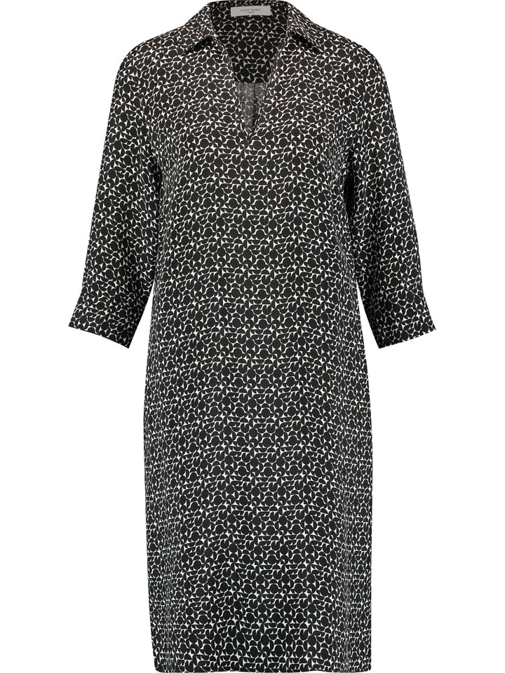Gerry Weber Sukienka w kolorze czarno-kremowym